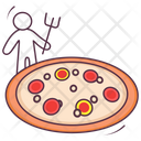 Italian Pizza Pizza Fast Food Icon
