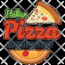Italian Pizza Icon