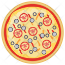 Italian Vegetarian Pizza Icon