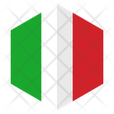 Italy Country Flag Icon