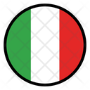 Italy Nation Country Icon