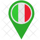 Italy Location Pointer Icon