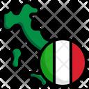 Italy Flag World Flag Icon