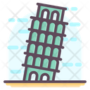 Italy Pisa Tower Icon