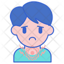 Itchy Throat Irritation Itchy Icon