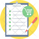 Item List Checklist Icon