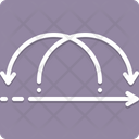 Iterative Interconnected Link Icon