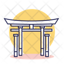 Itsukushima shrine Icon