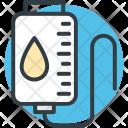 Iv Drip Saline Icon