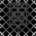 Iv Bag Drop Icon