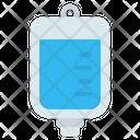 Iv Bag Transfusion Infusion Icon