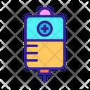 Iv Blood Bottle Icon