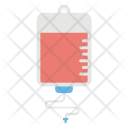 Iv Drip Blood Icon