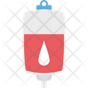 Iv Drip Saline Drip Blood Transfusion Icon