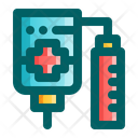 Drip Health Hospital Icon