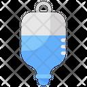 Iv Drip Glucose Drip Transfusion Icon