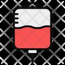 Iv Drip Blood Bag Blood Transfusion Icon