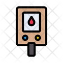 Drip Blood Pressure Icon