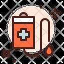Iv Drip Blood Bag Health Icon
