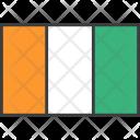 Ivory Coast Cote Icon