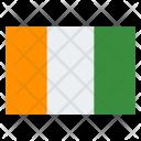 Ivory Coast Flag Icon