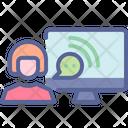 Voice Response Interactive Icon