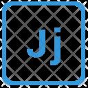 J Latin Letter Icon