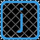 J letter Icon