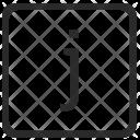 J Lowcase Letter Icon