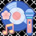 J Pop Music Cd Music Icon