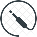 Jack Cable Microphone Icon