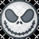 Jack Skellington Mask Icon