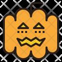 Jack Lantern Pumpkin Icon