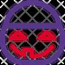 Jack O Lantern Bucket Icon