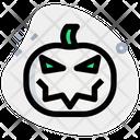 Jack O Lantern Pumpkin Icon