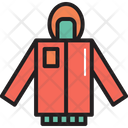 Camping Jacket Clothes Icon