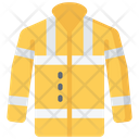High Vis Jacket Coat Policing Icon