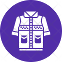 Jacket Camping Hiking Icon