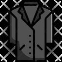 Jacket Coat Clothes Icon