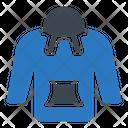 Jacket Cloth Hoodie Icon