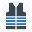 Jacket Safety Cloth Icon
