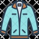 Jacket Coating Fashionable Icon