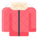 Clothes Jacket Winter Jacket Icon