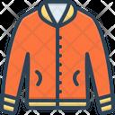 Jacket Fabric Cloth Icon