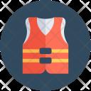 Jacket Safety Waistcoat Icon