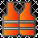 Safety Jacket Vest Icon