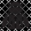 Jacket Hoody Clothing Icon