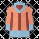 Jacket Winter Nature Icon