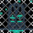 Vest Jackets Clothing Icon
