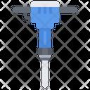 Jackhammer Tool Tools Icon